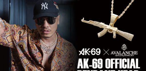 AK-69 オフィシャルペンダントヘッド発売
